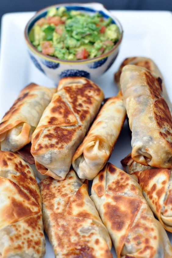 BAKED SOUTHWEST EGG ROLLS #recipes #thingstocookforsupper #food #foodporn #healthy #yummy #instafood #foodie #delicious #dinner #breakfast #dessert #yum #lunch #vegan #cake #eatclean #homemade #diet #healthyfood #cleaneating #foodstagram