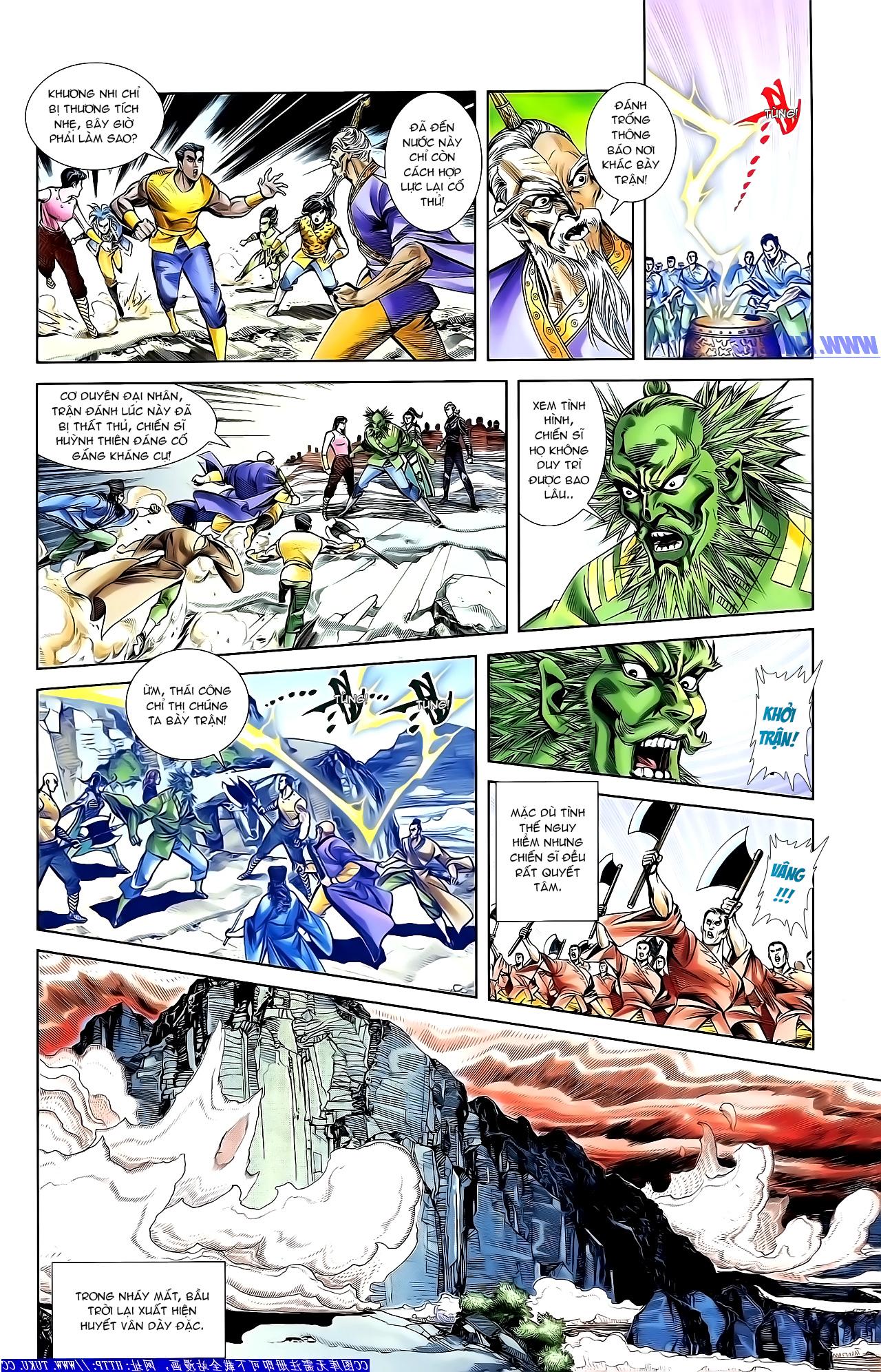Cơ Phát Khai Chu Bản chapter 154 trang 18