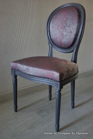 atelier et comptoir du tapissier chaise louis xiv. Black Bedroom Furniture Sets. Home Design Ideas