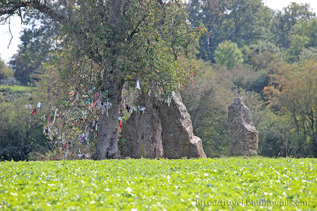 Oppagne Menhirs Durbuy Prehistoric Megalithic Sites in Belgium