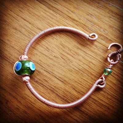 Copper Bracelets/Kada, Copper Jewelry, Wire Wrapped Jewellery, CopperCreations