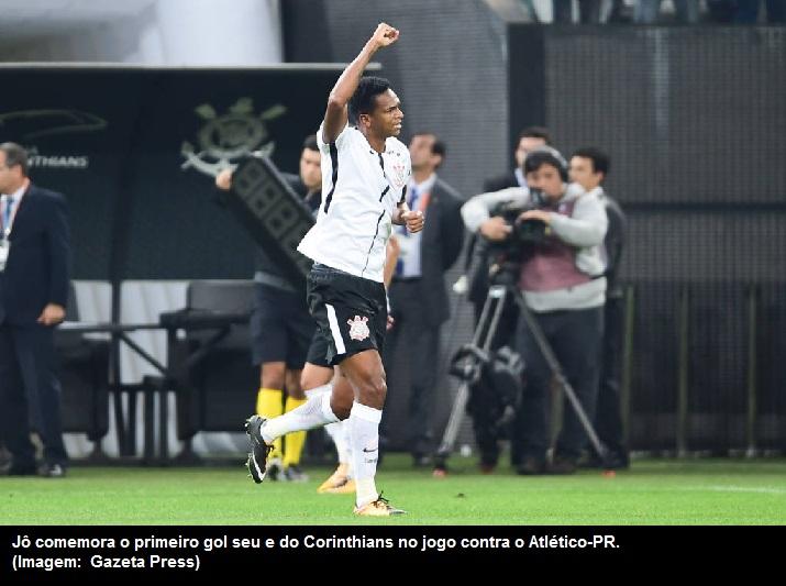 180bb29806 Blognetto  Corinthians cede empate ao Atlético-PR e pode queimar gordura