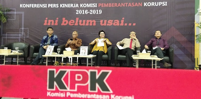 KPK Tersangkakan 608 Orang, Paling Banyak Instansi Pemkab Dan Pemkot