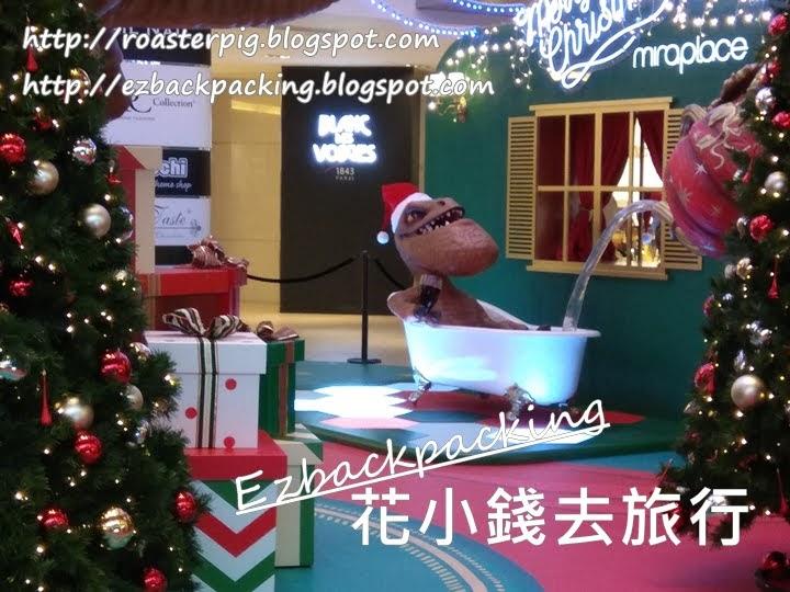 美麗華商場聖誕燈飾 Miraplace