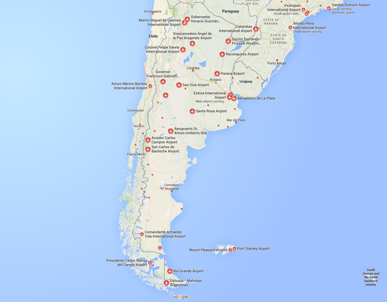 FlightRadar24 Argentina Airports Plane Flight Tracker