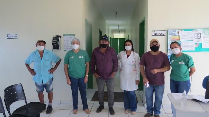 Vereadores Zé Cabeludo e Benvindo realizaram visita surpresa em unidade de saúde