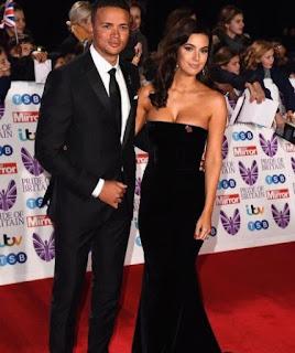 Ellie Penfold with her spouse Jermaine Jenas