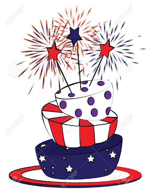Happy 4th of July Day ClipArt Images