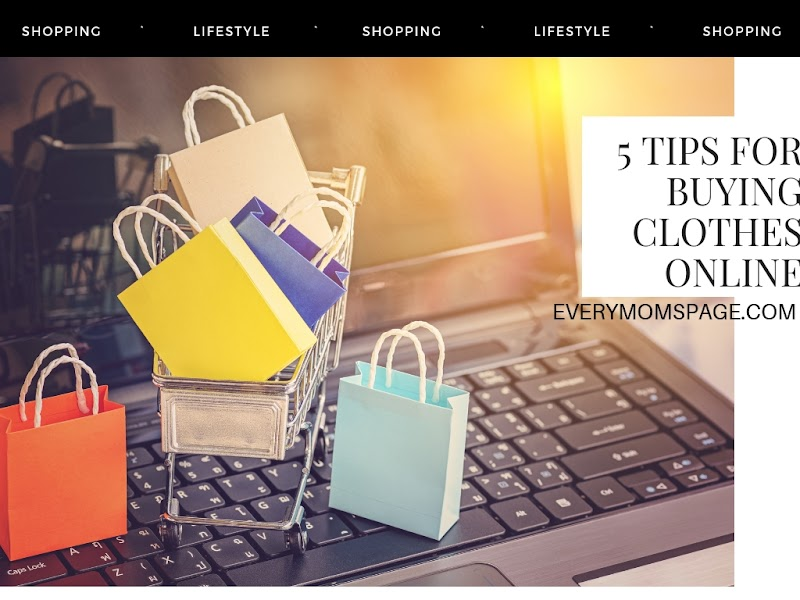 5 Tips for Buying Clothes Online