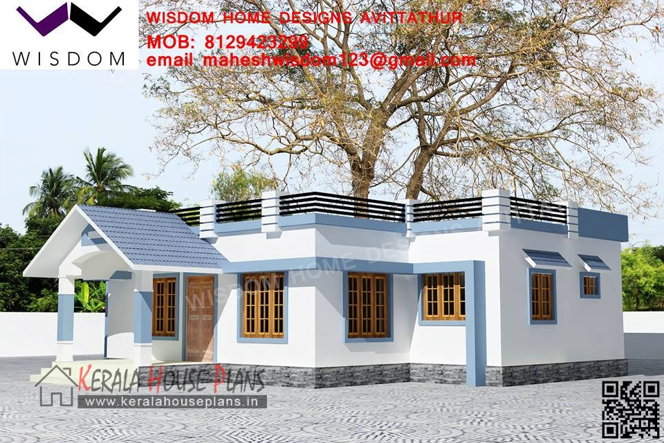 Budget Kerala model house