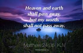 Catholic Daily Reading + Reflection: 27 November 2020 - But My Words Will Not Pass Away