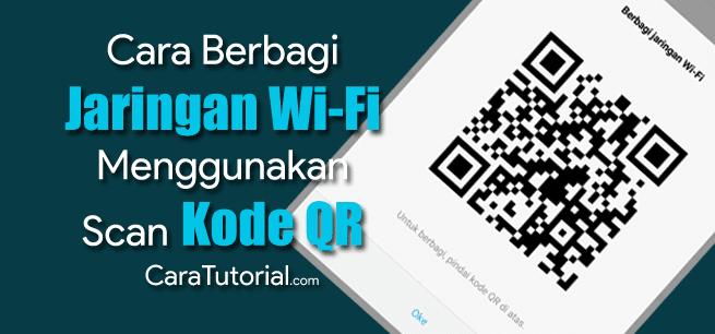 Cara Berbagi Password (Sandi) Wifi dengan Kode QR di HP Xiaomi