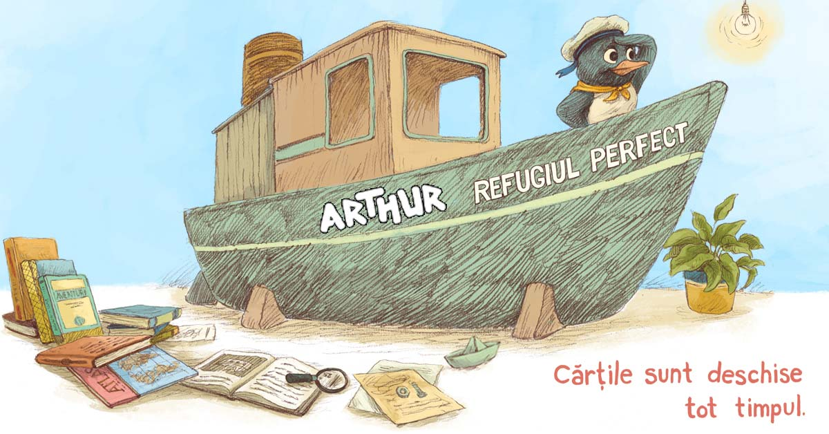 concurs cărți Refugiul Perfect Editura Arthur