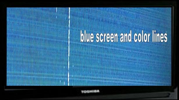LCD Panel Repair | LED TV Repairing Service Center : Lines