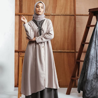 Gyona Dress Size S warna Stone Tale