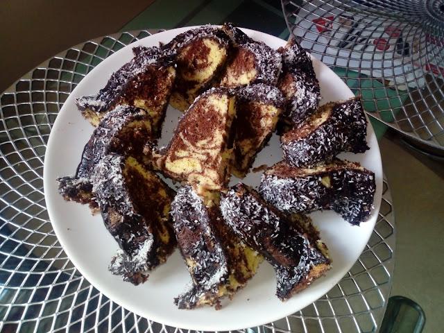 babka marmurkowa babka zebra babka czarno biala babka dwukolorowa babka cytrynowo kakaowa babka czekoladowa babka z mikrofali ciasto z mikrofali ciasto w 5 minut szybkie ciasto