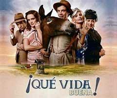 Ver telenovela que vida buena capítulo 11 completo online
