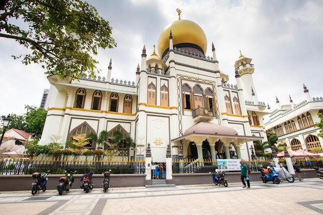 Moschea Masjid Sultan-Quartiere arabo-Singapore