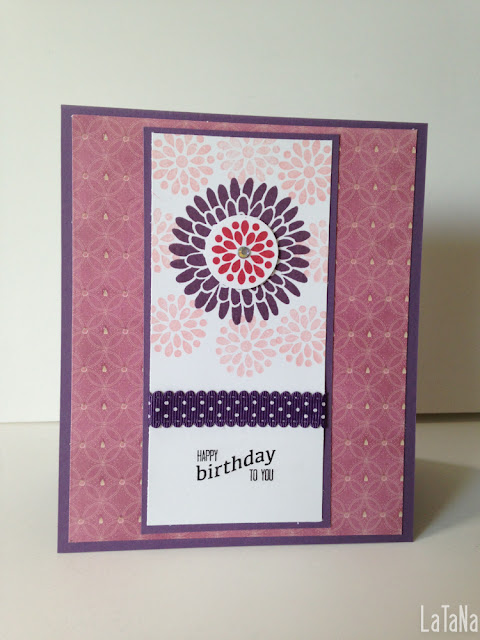 Stampin up, Geburtstagskarten, Flowers