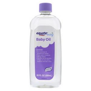 Dầu Dưỡng Ẩm Da Equate Baby Oil Mùi Hoa Oải Hương Hàng Xách Tay Mỹ
