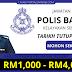 Jawatan Kosong Polis Bantuan. Kelayakan Serendah SPM Sahaja ! Tawaran Gaji Dari RM1,000 - RM4,000.