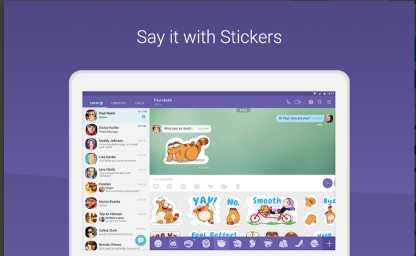 Aplikasi Chatting Mirip Whatsapp: Viber Messenger APK