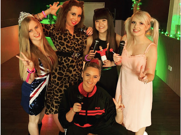 90's Hen Party | Spice Girls Costume & Makeup