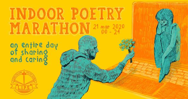 indoor poetry marathon!
