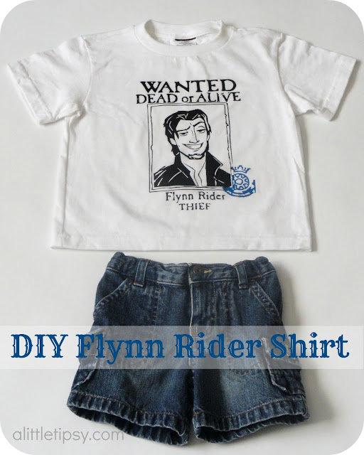 Flynn Rider Wanted Poster Shirt A Little Tipsy