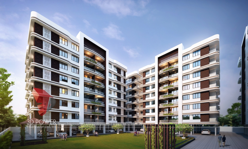Township Apartments Design | 3D Rendering