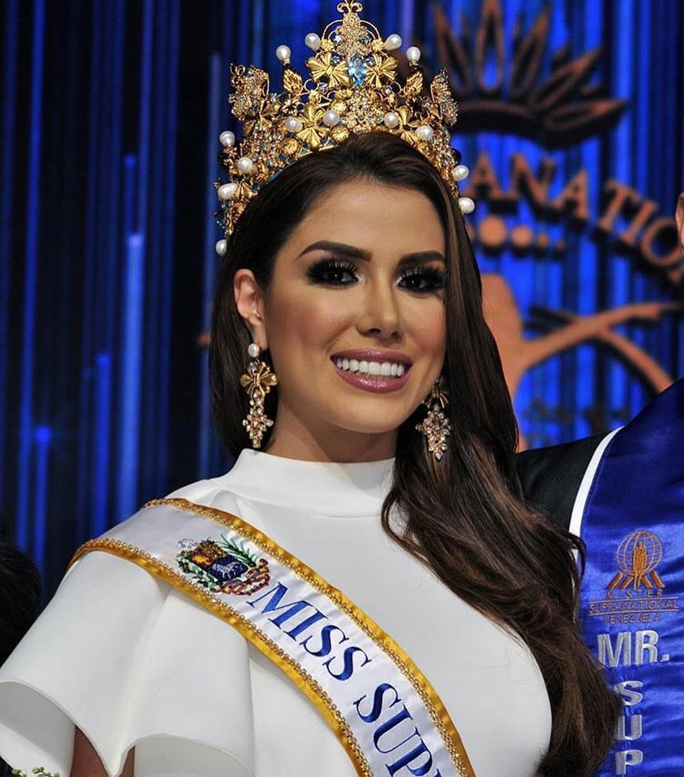 favoritas del Miss supranational  Miss Supranational Venezuela 2019 Gabriela De La Cruz