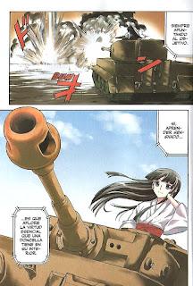 """""""Girls und Panzer"""" vol.1 de Ryôichi Saitaniya"""