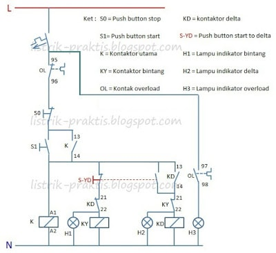 Gambar wiring diagram star delta wire center gambar wiring diagram star delta images gallery ccuart Image collections