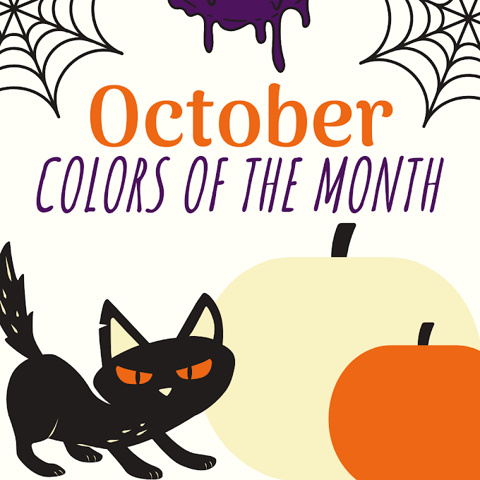 NRC Design Studio's Colors of the Month - October