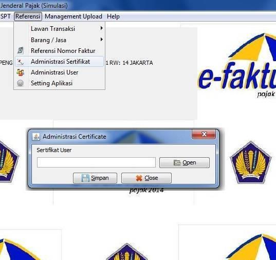 eFaktur Versi 2.2 : Cara Update dan Download Aplikasi