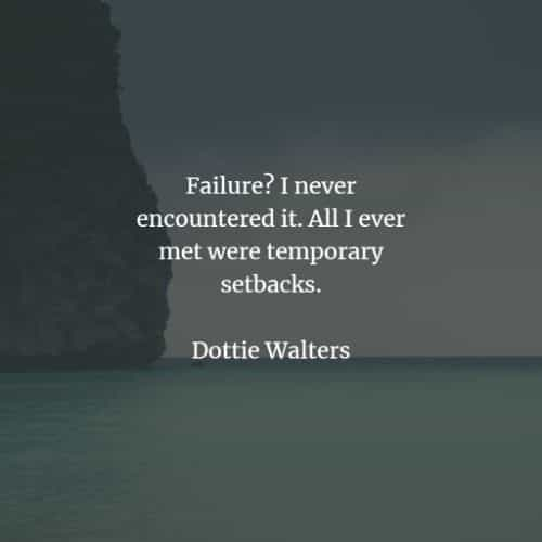 Failure quotes that inspire positivity for future success