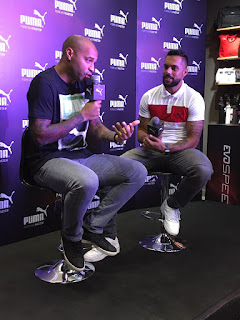 PUMA honored to host World- Cup winner and Football legend Thierry Henry for the first time in India