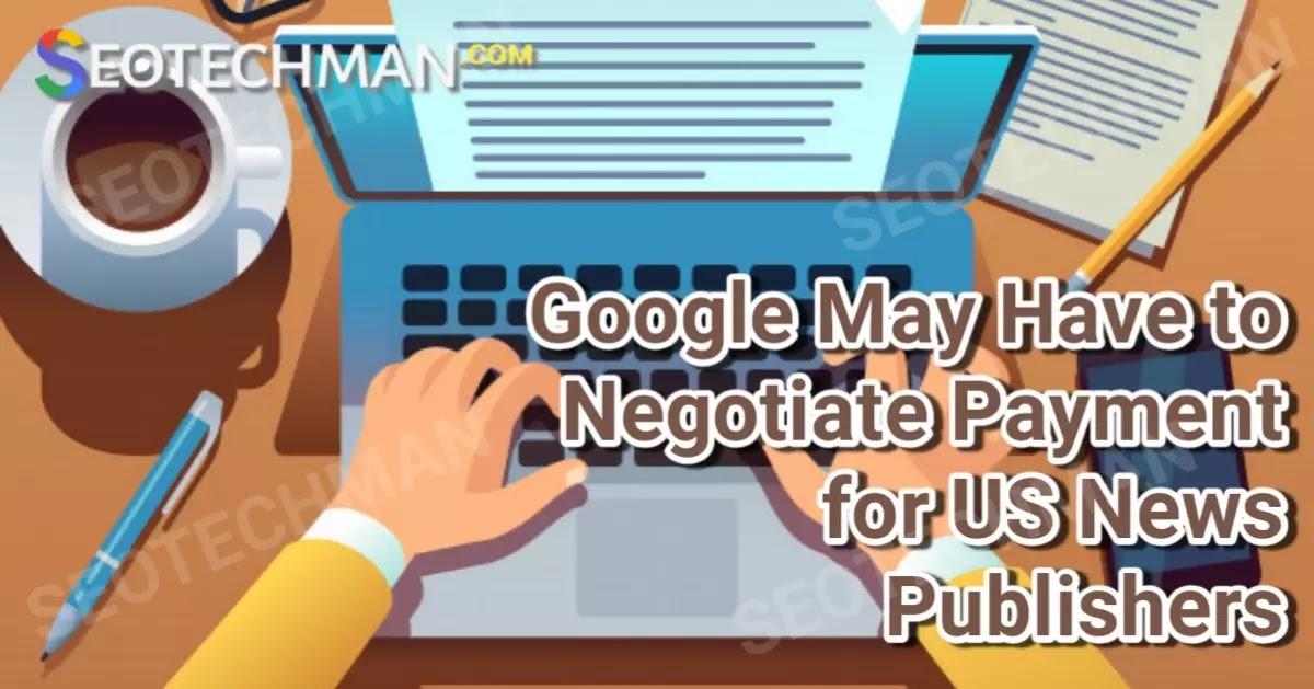 Google: Perundingan Pembayaran untuk Penerbit Berita di AS