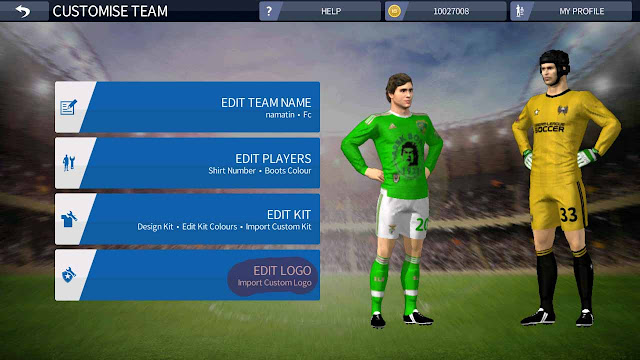 ganti logo dream league soccer