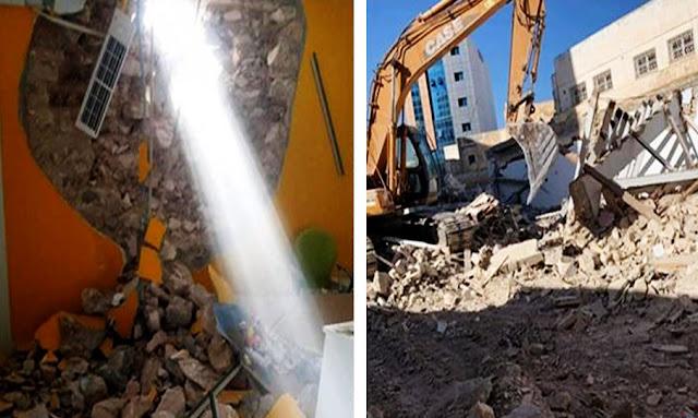 قابس: سقوط جزء من جدار على موظف