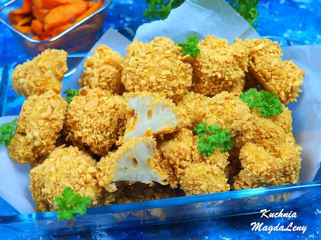 Pieczone nuggetsy z kalafiora
