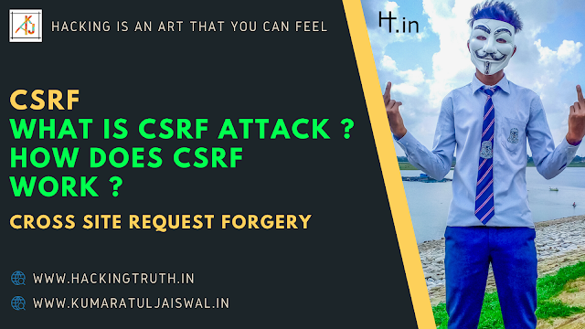 CSRF cross site request forgery attack