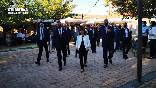 Βραβεία σε προσωπικότητες του διεθνούς δικαίου από την Πρόεδρο της Δημοκρατίας στο Ναύπλιο
