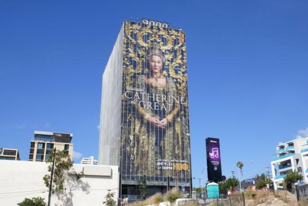 Catherine the Great series premiere billboard