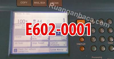 Memperbaiki Masalah E602-0001 Fotocopy IR 5000