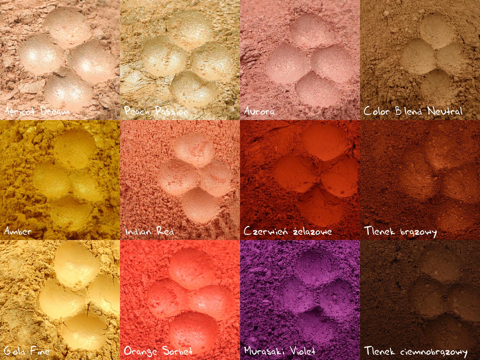 Analiza kolorystyczna: pigmenty mineralne dla każdego z 12 typów, odc. 4: Wiosna