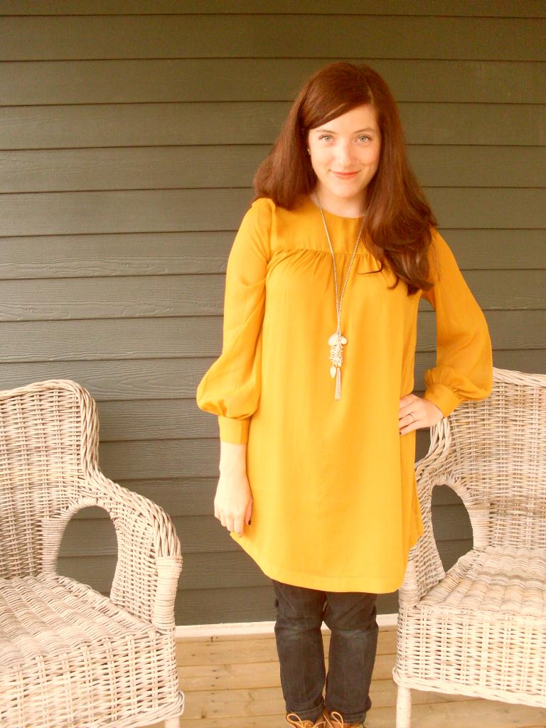 à bas prix design distinctif rechercher le meilleur Tunique moutarde // ce que je portais aujourd'hui... - NaNa ...