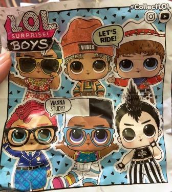 Pamphlet with L.O.L. Surprise Boys