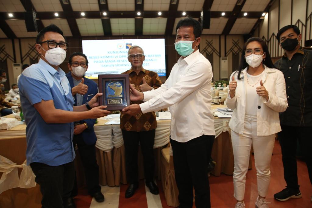 Kepala BP Batam Menyambungan Kunjungan Kerja Komisi VI DPR RI Sambangi BP Batam