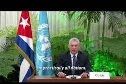 Inilah Pidato Presiden Kuba,  Miguel Díaz Canel Bermúdez di Debat Umum PBB ke 75
